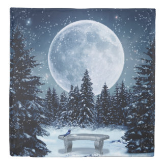 Winter Wonderland (2 sides) Queen Duvet Cover