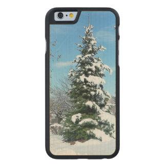 Winter Wonderland Apple iPhone 6 Wooden Case
