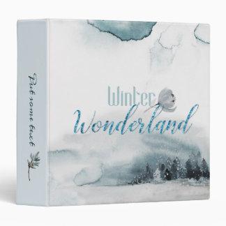 Winter Wonderland Binder