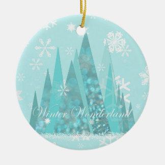 Winter Wonderland Ceramic Ornament