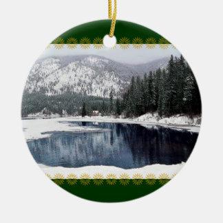 Winter Wonderland, Christmas Ornament