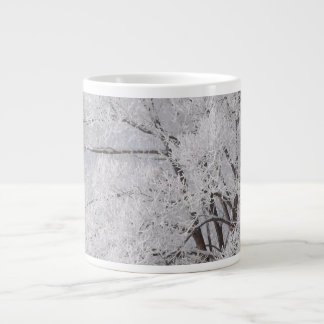Winter Wonderland Frost Covered Tree Mug