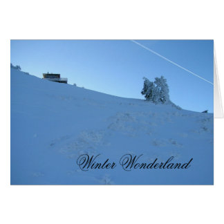 Winter Wonderland Hager Mtn. Fire Lookout Card