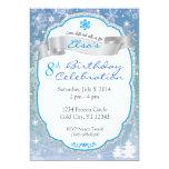 "Winter Wonderland Invitation 5"" X 7"" Invitation Card"