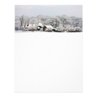 Winter Wonderland Letterhead
