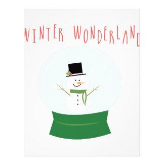 Winter Wonderland Letterhead