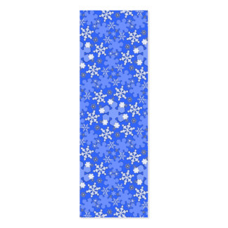 Winter Wonderland Lg Any Color Bookmark Mini Business Card