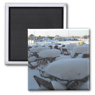 Winter wonderland magnet
