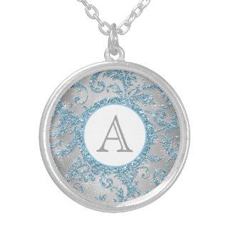 Winter Wonderland Monogram Necklace