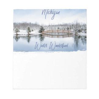 Winter Wonderland Notepad