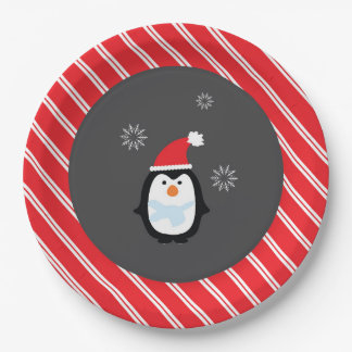 Winter Wonderland Paper Plate- Penguin Plates