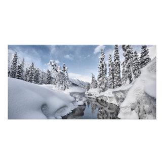 Winter Wonderland Photo Greeting Card
