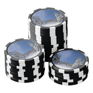 Winter Wonderland Poker Chips