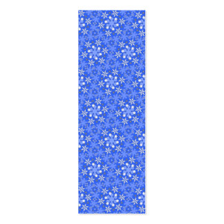 Winter Wonderland Sm Any Color Bookmark Mini Business Card