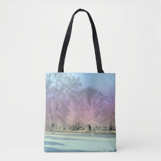 [Winter Wonderland] Snow Icy Trees Dream Landscape Tote Bag
