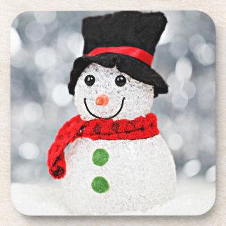 Winter Wonderland Snowman Coaster