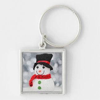 Winter Wonderland Snowman Keychain