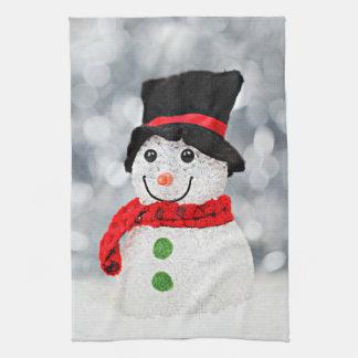 Winter Wonderland Snowman Kitchen Towel