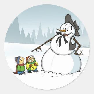 Winter Wonderland Stickers
