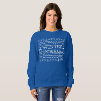 Winter Wonderland Ugly Sweater Sweatshirt