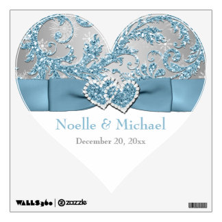 Winter Wonderland Wedding Wall/Floor Decal
