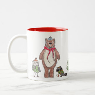 Winter Woodland - #2 Two-Tone Coffee Mug