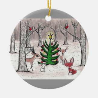 Winter Woodland Christmas - Ornament