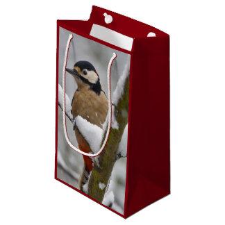 Winter Woodpecker Gift Bag