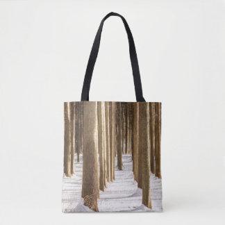 Winter Woods Tote Bag