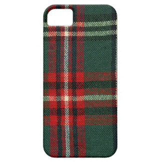 Winter Wool Plaid iPhone 5 Case