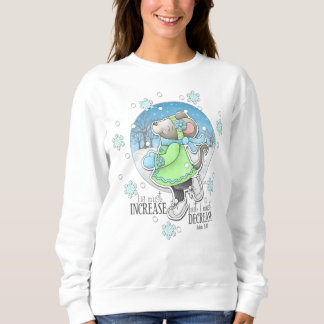 Winter Workout Mouse Sweatshirt