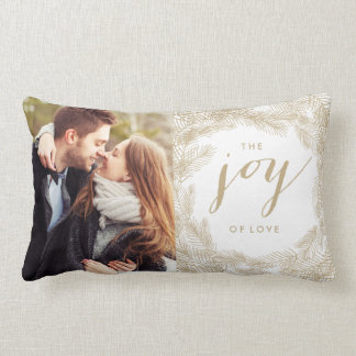 WINTER WREATH | JOY STYLISH HOLIDAY PILLOW