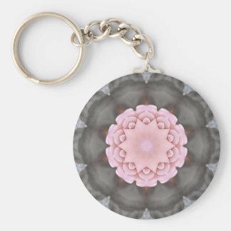 Winterborn Basic Round Button Keychain