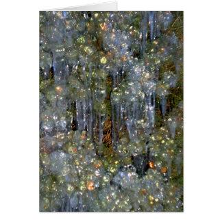 Winter's Diamonds Card