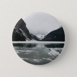 Winter's End, Lake Louise 2 Inch Round Button