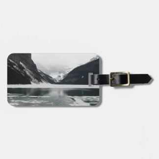 Winter's End, Lake Louise Luggage Tag