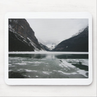 Winter's End, Lake Louise Mouse Pad
