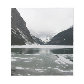 Winter's End, Lake Louise Notepad