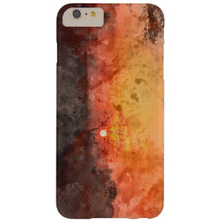 Winters landscape sunset watercolour barely there iPhone 6 plus case