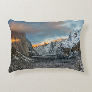 Winter's Mark Decorative Pillow