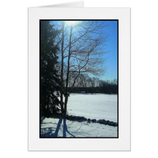 Winter's Morning Card