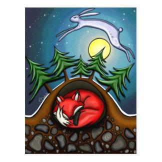 Winter's Night Postcard