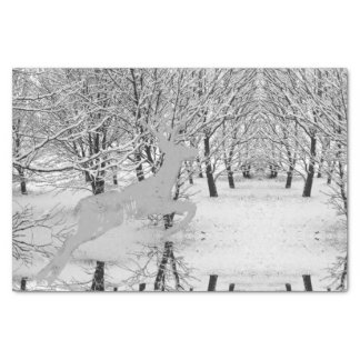 Winter's Tale Stag Tissue Paper