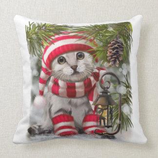 """Winter's tale"" Throw Pillow"