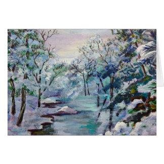 Winterscene Card