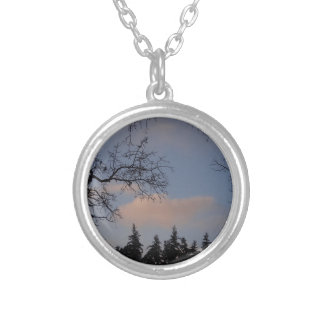WinterSky Silver Plated Necklace