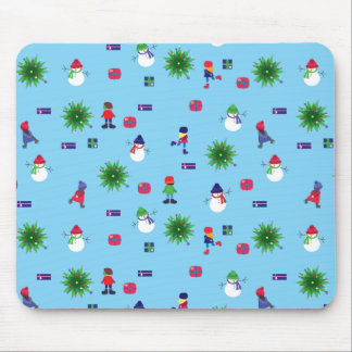 Wintertime Ice Rink Mouse Pad