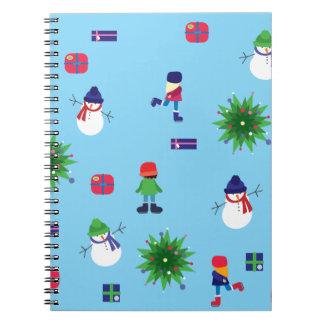 Wintertime Ice Rink Notebook