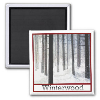 Winterwood Woodlot Magnet