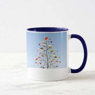 Wintery Cupcake Trees Mug
